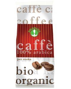 Caffè per moka 100% arabica 250 g BIO
