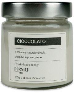 Candela profumata fragranza cioccolato 135 g (6 pezzi)