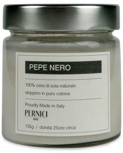 Candela profumata fragranza pepe nero 135 g (6 pezzi)