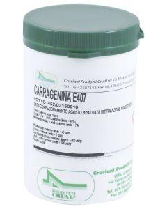 Carragenina in Polvere – E407 – 100g