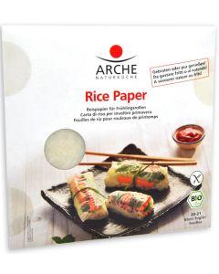 Carta di riso per involtini primavera 150 g BIO (min. acquisto 10 pezzi)