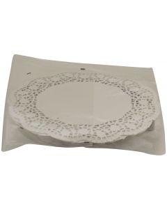 Centrini bianchi per torte da 22cm (n.10 pezzi)