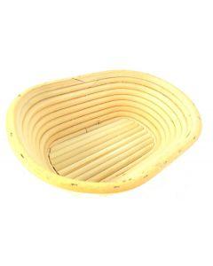 Cestino da lievitazione in bambù rettangolare medio