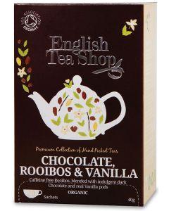 Chocolate rooibos vanilla 40 g BIO  (min. acquisto 10 pezzi)
