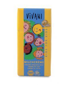 Cioccolato al latte kids 100 g BIO  (min. acquisto 10 pezzi)
