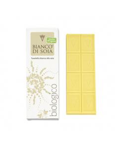 Cioccolato bianco alla soia Bianco di Soia 60 g BIO