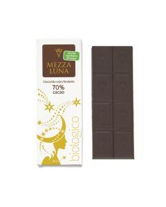 Cioccolato di Modica fondente extra 70% Mezza Luna 60 g BIO