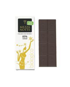 Cioccolato di Modica fondente extra 85% Mezza Notte 60 g BIO