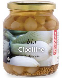 Cipolline in agrodolce 350 g BIO  (min. acquisto 10 pezzi)