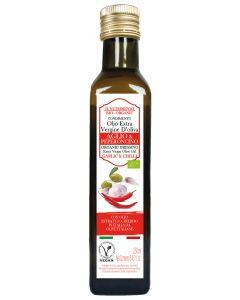Condimento aglio e peperoncino con olio extravergine d'oliva 250 ml BIO (min. acquisto 10 pezzi)