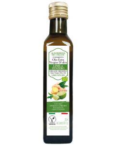 Condimento di olio extravergine con lime e zenzero 250 ml BIO (min. acquisto 10 pezzi)