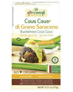 Cous cous di grano saraceno 375 g BIO senza glutine