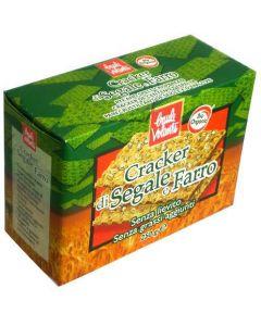 Cracker di Segale e Farro 250g BIO