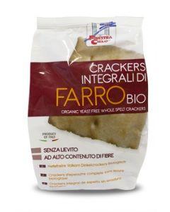 Cracker integrali di farro senza lievito 250 g BIO