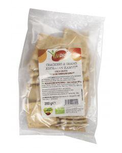 Crackers di grano khorasan KAMUT® Integrali 200g BIO