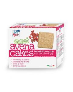 Cracker biscottati di avena con goji Sweet AvenaCakes 250 g BIO