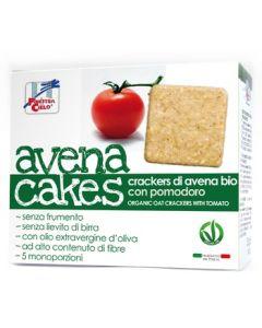 Cracker di avena con pomodoro AvenaCakes 250 g BIO