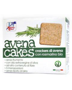 Cracker di avena con rosmarino Avenacakes 250 g BIO