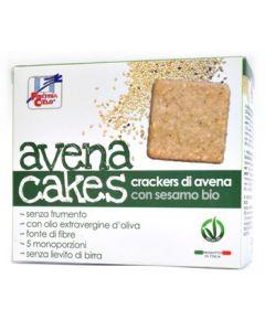 Cracker di avena con sesamo Avenacakes 250 g BIO