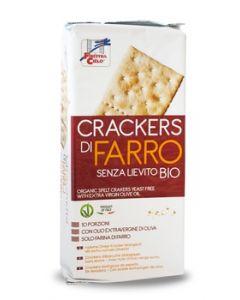 Cracker di farro senza lievito 280 g BIO