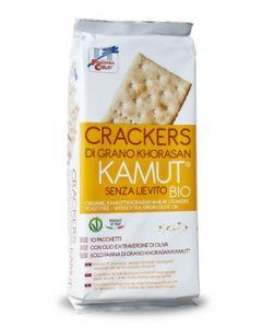 Cracker di grano khorasan kamut senza lievito 290 g BIO