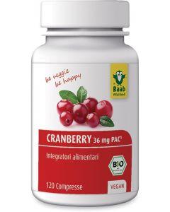 Cranberry in compresse 120 BIO  (min. acquisto 6 pezzi)