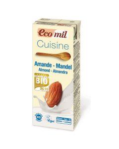 Crema Cuisine da cucina a base di mandorla EcoMil 200 ml BIO (min. acquisto 10 pezzi)