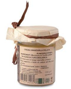 Crema di mandorla pelata di toritto 150 g BIO  (min. acquisto 6 pezzi)