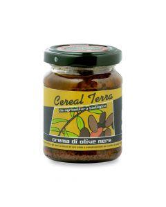 Crema di olive nere 120 g BIO