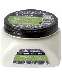 Crema multifunzionale viso e corpo uva fragola e more di gelso 200 ml BIO  (min. acquisto 6 pezzi)