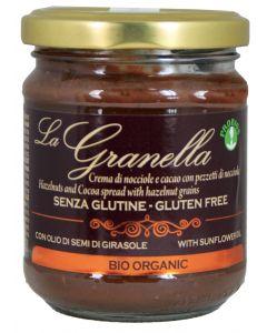 """Crema spalmabile con granella di nocciole """"La Granella"""" 200 g BIO (min. acquisto 10 pezzi)"""