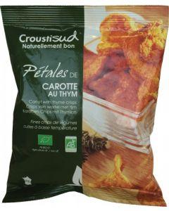 Crisp chips di carote con timo 70 g BIO (min. acquisto 10 pezzi)