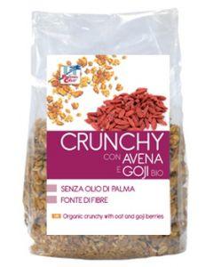 Crunchy con avena bacche di goji e cocco 375 g BIO
