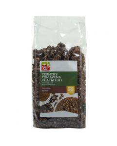 Crunchy con avena cacao e cocco 375 g BIO