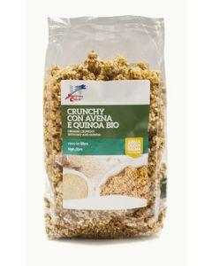 Crunchy con avena e quinoa 375 g BIO