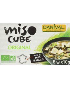 Dadi di miso d'orzo Miso Cube Danival 8 x 10 g BIO (min. acquisto 10 pezzi)