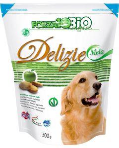 Delizie alla mela per cani di tutte le taglie 300 g BIO