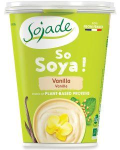 Dessert di soia alla vaniglia 400 g BIO  (min. acquisto 10 pezzi)