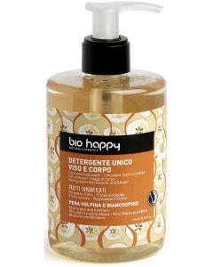 Detergente unico viso e corpo pera volpina e biancospino 300 ml BIO  (min. acquisto 10 pezzi)