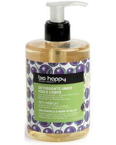 Detergente viso e corpo uva fragola e more di gelso 300 ml BIO  (min. acquisto 10 pezzi)