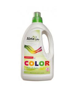 Detersivo Color liquido concentrato con tiglio e lime Almawin1,5 L (min. acquisto 6 pezzi)