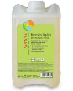 Detersivo liquido per piatti e stoviglie - ricarica 5 L BIO  (min. acquisto 6 pezzi)