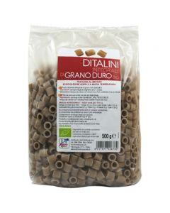 Ditalini di semola integrale di grano duro 500 g BIO