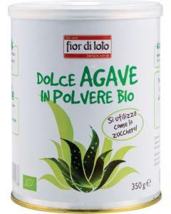 Dolce agave dolcificante naturale in polvere 350 g BIO (min. acquisto 6 pezzi)