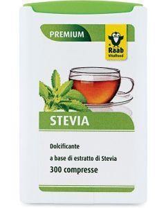 Dolcificante a base di estratto di stevia in compresse 300 BIO  (min. acquisto 10 pezzi)