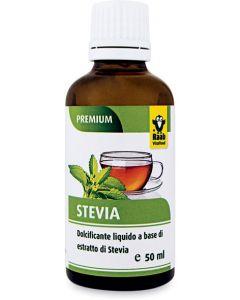 Dolcificante a base di estratto di stevia liquido 50 ml BIO  (min. acquisto 10 pezzi)