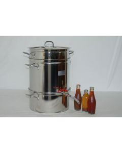 Estrattore a vapore per succhi di frutta (Mod. Es-12 e Es-24)