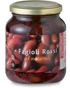 Fagioli rossi al naturale 350 g BIO  (min. acquisto 10 pezzi)