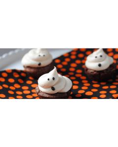 Cesto Ricetta Halloween: Fantasmini di Marshmallow