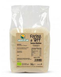 Farina di Teff 350g BIO senza glutine (min. acquisto 10 pezzi)